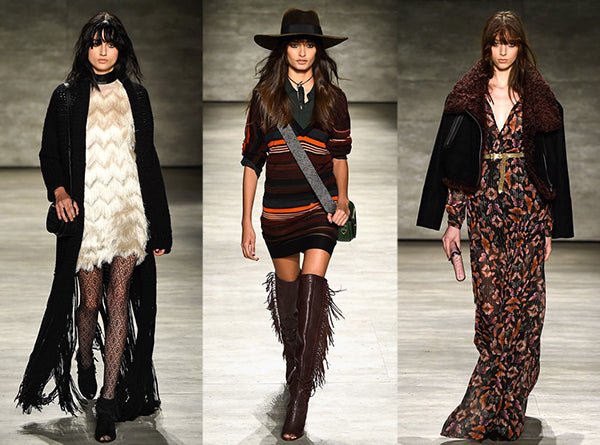 70s fringe new york fashion week trends
