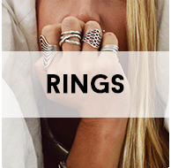a ring on every finger blonde button