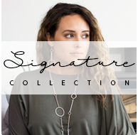 signature collection corinne treaty button barberella