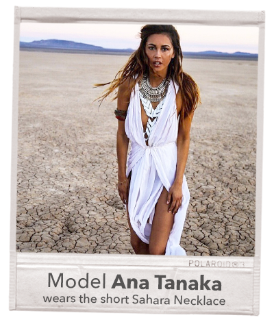 ana tanaka jewellery necklace anatanaka model celebrity outfit burning man