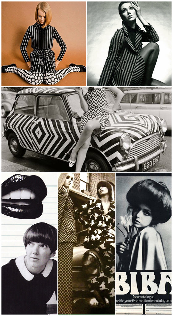 comment facebook biba stripe trend vintage influences inspiration fashion edit retro mini decal zig zag mary quant