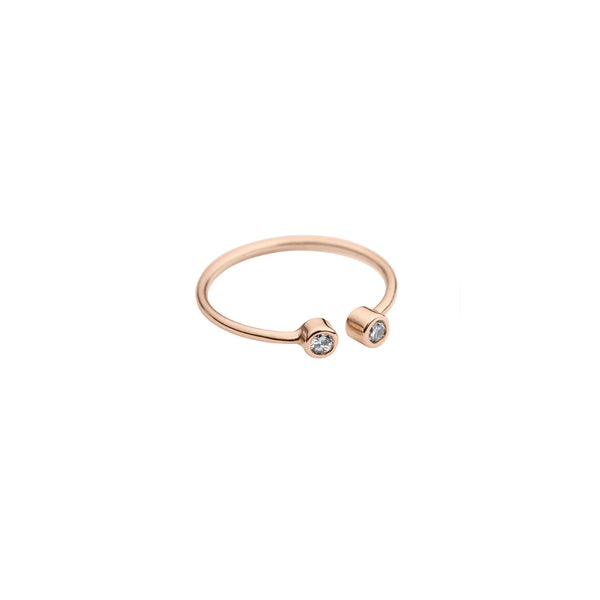 Audrey Open ring — 14K Rose gold