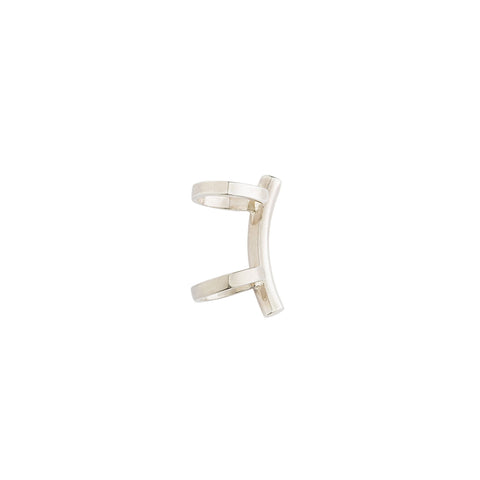 Louie Ear Cuff — Silver