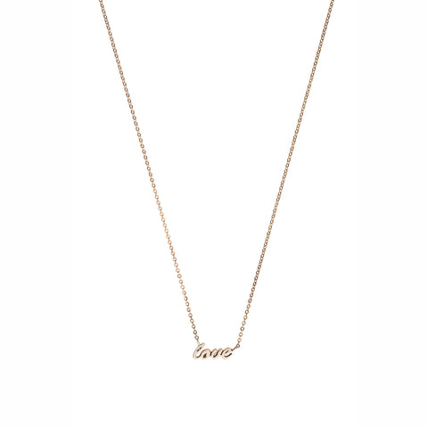 Love necklace — Gold
