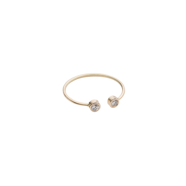 Audrey Open ring — 14K Gold