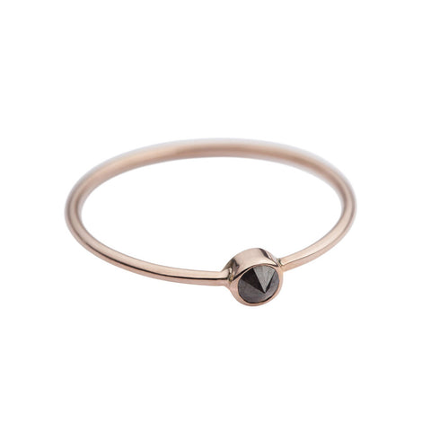 Audrey solitary — 14K rose gold