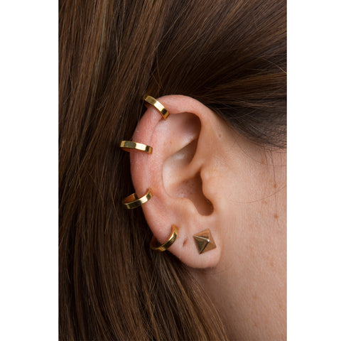 Lou Ear Cuff — Gold