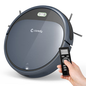 Coredy R300 Robotic Sweep Vacuum, Super Slim