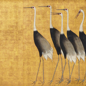 Vintage Japanese bird painting. Fine art print