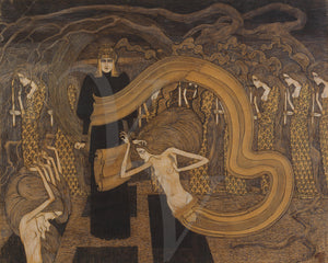 Fatalisme by Jan Toorop. Art Nouveau. Dark Symbolist artwork