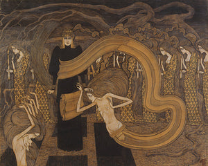 Fatalism by Jan Toorop. Art Nouveau. Dark Symbolist artwork