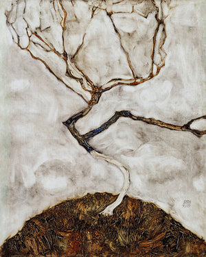 Tree in Late Autumn painting by Egon Schiele. Fine art print
