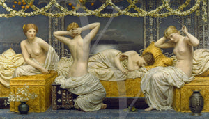 A Summer Night by Albert Joseph Moore. Fine art print