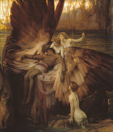 The Lament for Icarus by Herbert James Draper . Fine art print