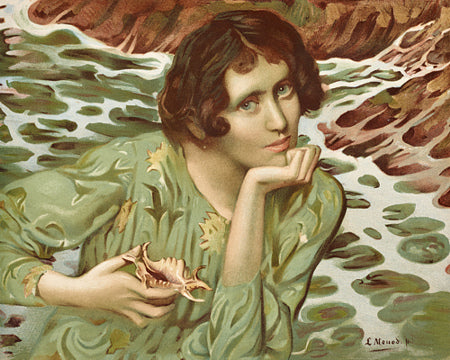 La Voix des Sources (Voice of the Sea)  by Lucien-Hector Monod. Fine art print