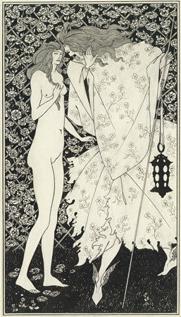 The Mysterious Rose Garden by Aubrey Beardsley. Fine art print