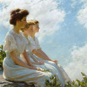 On the Heights by Charles Courtney Curran. Fine art print