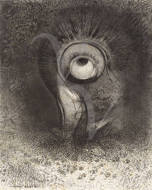 Flower Vision by Odilon Redon. Fine Art Print