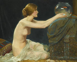 The Goldfish Bowl - Venus Art Prints