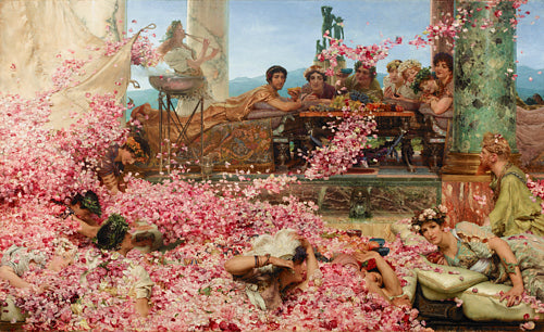 The Roses of Heliogabalus by Sir Lawrence Alma-Tadema. Fine Art Print