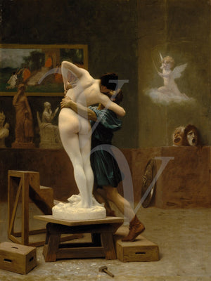 Pygmalion and Galatea - Venus Art Prints
