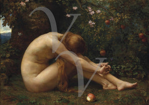 Eve. Victorian painting. Fine Art Print
