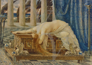 Pandora's Box by Walter Crane. Victorian painting. Mythology. Fine Art Print