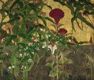 Exotic Garden. Japanese painting fine art print