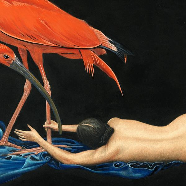 Venus Art Prints - Ibis & Nude Painting