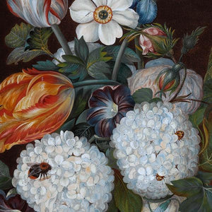 Flowers and Fruit Still Life Painting - Venus Art Prints