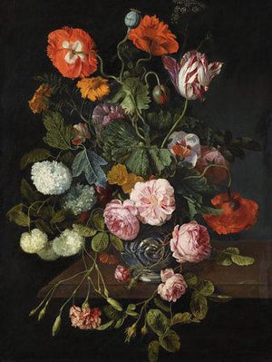 Dutch Flowers Still Life Painting - Venus Art Prints