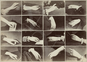 Victorian Hands. Antique photographs. Oddities and Curios. Fine art print