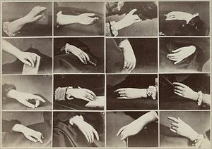 Victorian Hands. Antique surreal photography. Fine art print