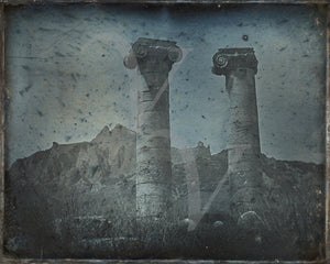 Temple of Cybele, Sardis Turkey. Antique photography. Fine Art Print