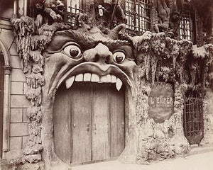 Cabaret Hell. Cabaret de L'Enfer Paris antique photograph. Fine art print