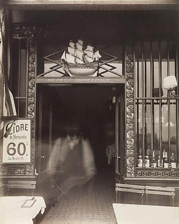 Parisian Bar Antique Photograph - Venus Art Prints