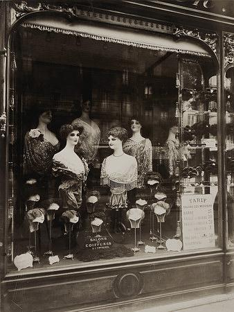 Hairdresser's Storefront Paris - Venus Art Prints