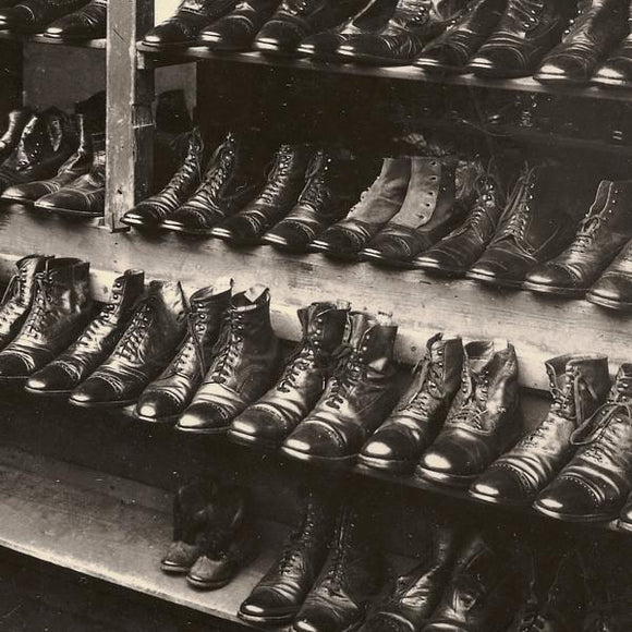 Shoe Store Vintage Photograph - Venus Art Prints