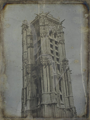 Saint-Jacques Tower, Paris. Fine art print