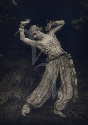 Ballets Russes dancer from Scheherazade. Fine art print