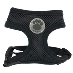 Rubber Adjustable Soft Breathable Vest harness for Pet puppy