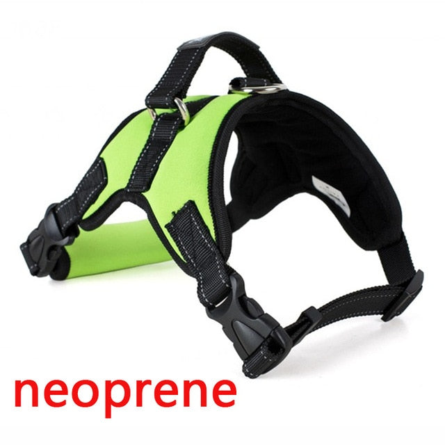 Pet Products for Large Dog Harness k9 Glowing Led Collar - trendymal.com