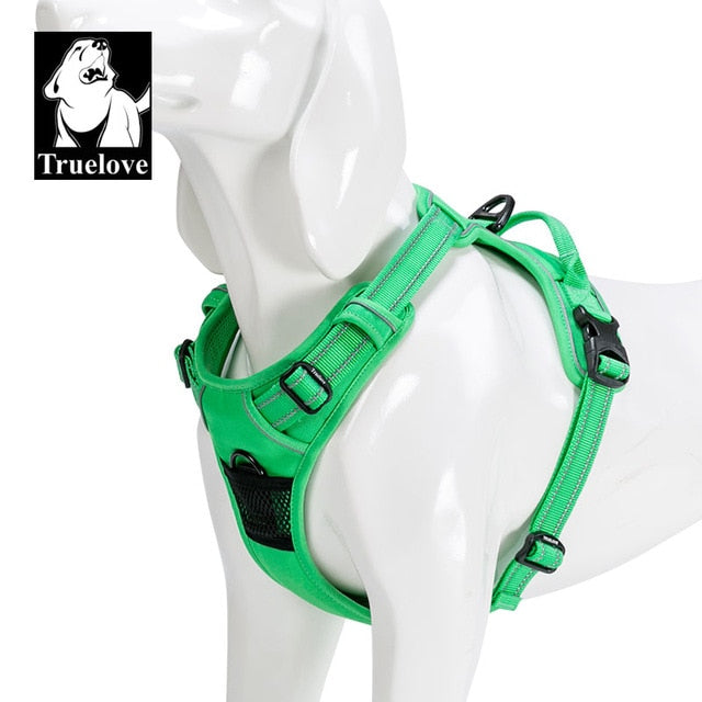 Nylon pet Dog Harness All Weather Service - trendymal.com