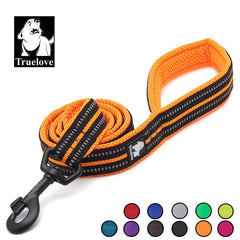 Soft mesh Nylon Dog Leash Double Trickness - trendymal.com