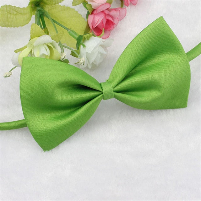 Dog Puppy Cat Kitten Pet Toy Kid Bow Tie Necktie Clothes Adjustable 105mm x 60mm For Small Mudium Dogs 2018 - trendymal.com