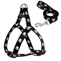 Small Dog Harness and Leash Soft Nylon