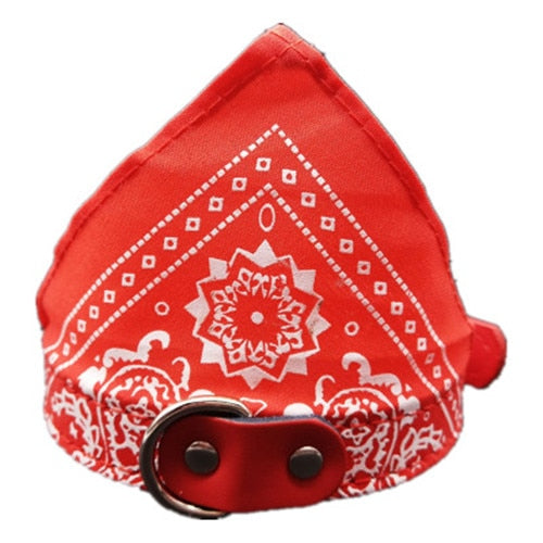 Adjustable Pet Dog and Puppy Neck Scarf Bowtie - trendymal.com