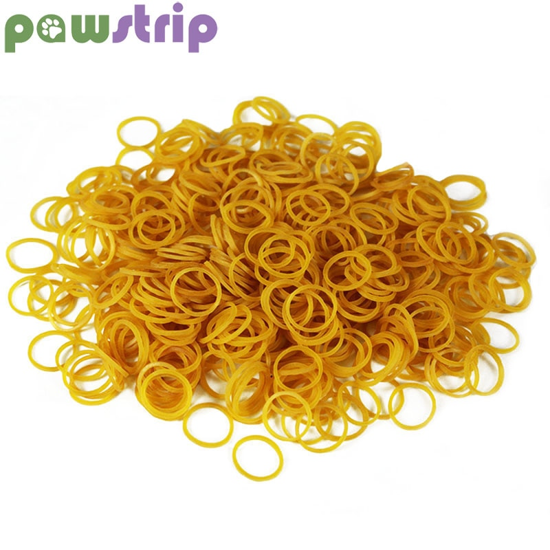 Pawstrip 200pcs/lot Pet Accessories Bands Diameter 15mm - trendymal.com