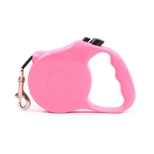 Retractable Dog Leash Automatic Extending Rope - trendymal.com