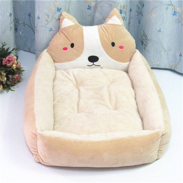 Removable Pet Big Dog Bed Sofa Thickened Warm Dog Beds - trendymal.com